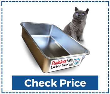 IPrimio Ultimate Stainless Steel Cat Litter Box