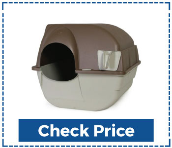 Omega Paw Premium Roll 'n Clean Litter Box for Cats
