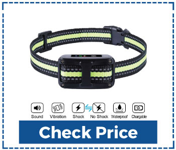 Dog Bark Collar 5 Adjustable Sensitivity