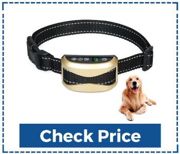 Totie Dog Electric Bark Collar 7 Adjustable Sensitivity