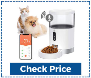 Peteme Automatic Cat Feeder with Remote Control