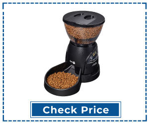Aspen Pet Lebistro Programmable Timed Automatic Cat Feeder