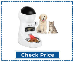 Automatic Pet Feeder Timer Control Cat Feeder