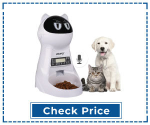 Automatic Pet Food Dispenser V2 with Voice Recall