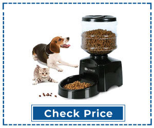 Automatic Multi-Cat Feeder with Big LCD Screen
