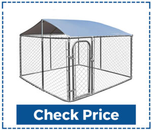 Giantex Large Outdoor Dog Kennel