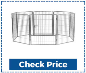 24 Tall Dog Playpen Crate Fence Pet Kennel