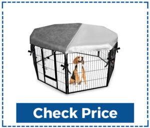 Expawlorer Indoor Outdoor Dog kennel