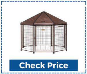 It is Advantek Pet Gazebo
