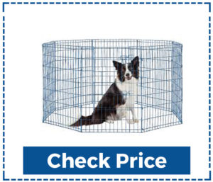 Bestpet-Puppy-Pet-Playpen-8-Panel-Dog-Kennel-Panels