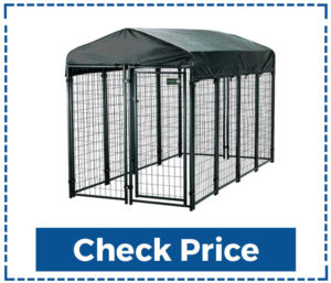 DOIT Heavy Duty Large Outdoor Dog Kennels With Cover