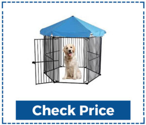 LEMKA Heavy Duty Foldable Dog Kennels
