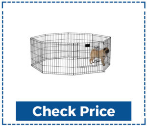 New-World-Pet-Products-Foldable-Metal-Exercise-Pen-&-Pet-Playpen