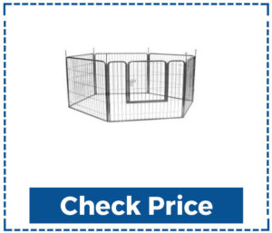 Precision-Petdog-Kennel-Panels-With-Gate