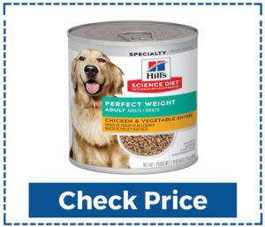 hill's science canned dog food