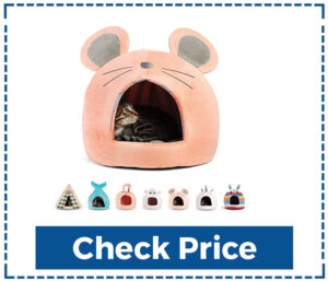 Sheri Novetly Pet Huts Self Heating Cat bed