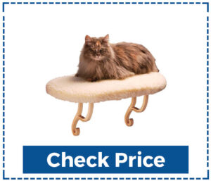 K&H Pet Products Cat Window Heated Hanging Bed