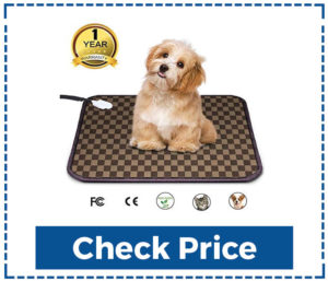 Electric Heating Pad for Dogs Indoor Warming