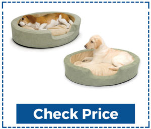 K & H Thermo Snuggly Sleeper Dog Bed