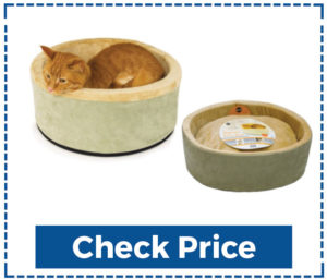 K&h Heated Cat Bed Thermo Kitty