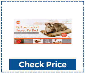 KH Lectro Soft Heated Cute Cat Beds