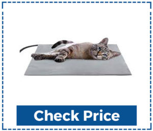 Nicrew Pet Heating Pad Outdoor Cat Heating Pad