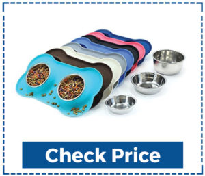 Vivaglory Dog Bowls Stainless Steel