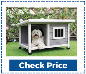 Pets Fit Best Wooden Outdoor Dog House
