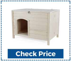 Pets Fit Portable Wooden Dog House
