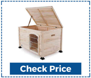 Linux Indoor Wooden Portable Dog House
