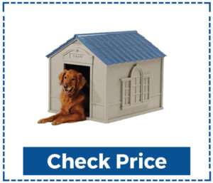 Deluxe Dog House Furniture Ventilated