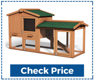 Tangkula Wooden Large Dog House