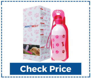 ANPETBEST Dog Travel Water Bottle