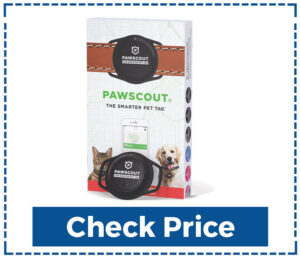 Pawscout Smarter Pet Tag GPS Tracker for Cats
