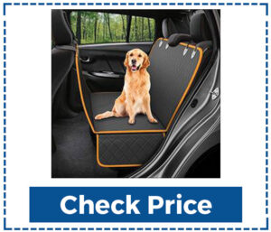 Dog Back seat Cover Protector Hammock for Dogs