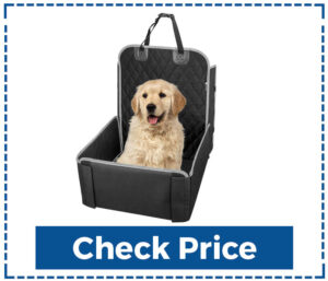 Pet Front Seat Cover for Dogs 2 in 1 Pet Booster