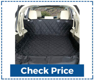 Bulldogology SUV Cargo Liner Seat Cover for Dogs