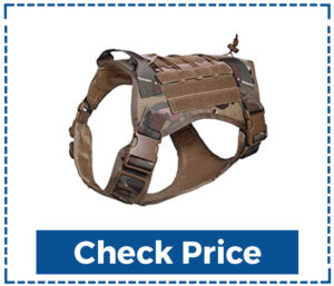 Rabbitgoo Tactical Best Dog Harness for Large Dogs