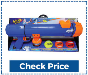 Nerf Dog Tennis Ball Blaster Christmas Gifts for Dogs