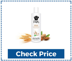 John Paul Pet Oatmeal Shampoo for Sensitive Skin
