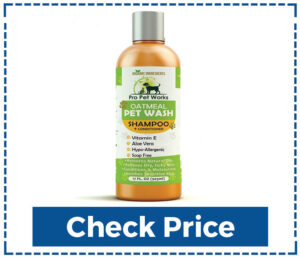 Pro Pet Works All Natural & Organic Oatmeal Pet Shampoo