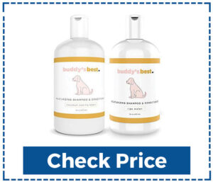 Buddy's Best Natural Dog Shampoo and Conditioner