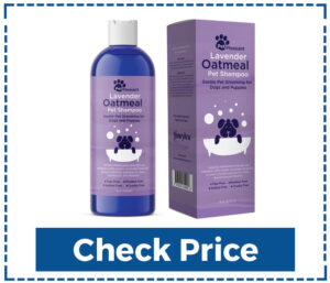 Pet Pleasant Oatmeal Smelling Shampoo for Dogs